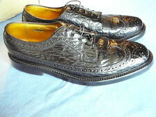 *RARE* Men's FLORSHEIM IMPERIAL Sharkskin 626319 WINGTIP Dress Shoes Size 9 A