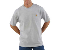 Carhartt Work Wear Short Sleeve Pocket T-shirt K87 Heather Gray
