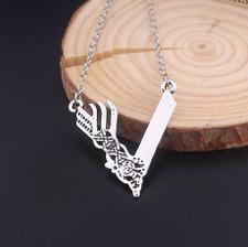 Vikings TV Series Season 3 Viking V Shape Silver Pendant Necklace 1PCS NEW