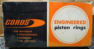 Cords 882 1600 OHC Pinto Cortina Capri piston rings +.060