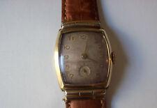 **True Vintage Benrus!!! Rectangular Mechanical Gold Filled Men Watch Works