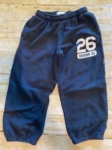 Old Navy Boys/Girls M 8 Black Elastic Waist Ankle Sweat Pants 26 Division A2