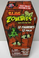 Jakks Pacific S.L.U.G. Zombies Figures Series 4 Coffin Pack 12 figures NIP 2012