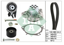 OE VAUXHALL INSIGNIA 2.0 CDTI DIESEL Timing Belt And Water Pump KIT INA GERMANY