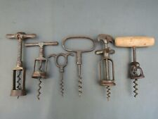 More details for vintage collection of 6 corkscrews self pullers & mechanical