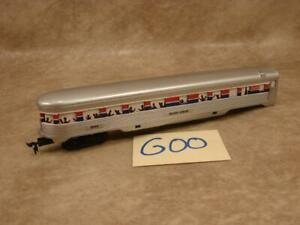 G00B VINTAGE HO SCALE LIFE LIKE AMTRAK PASSENGER CAR 9545 SILVER VISION AS IS