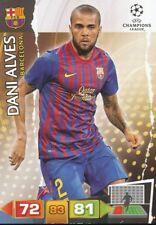 DANI ALVES BRAZIL FC BARCELONA CARD ADRENALYN CHAMPIONS LEAGUE 2012 PANINI