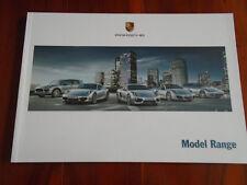 FOLLETO de rango de Porsche 2012 de agosto