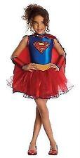 Girls Supergirl Tutu Superhero Kids Halloween Fancy Dress Costume Childs Age 3-7 5 - 7 Years 881627