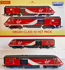HORNBY 00 GAUGE - R3390TTS - VIRGIN CLASS 43 HST PACK TTS DCC SOUND - RARE
