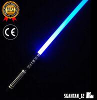 Star Wars Lightsaber Black Series Metal Handle Heavy Dueling Rechargable Saber