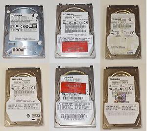 "Toshiba 80GB 160GB 250GB 500GB (3.5"") (2.5"") SATA IDE Various size HDD"