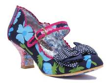 Irregular Choice Balmy Nights Women Other Fabric Navy Mary Jane Shoes Navy EU 40
