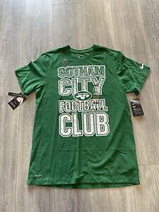 RARE 30$ New York Jets Gotham City Nike Shirt Cd4327-327 Mens Sz MED Football