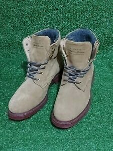 GANT LADIES BOOTS (Timberland Style) UK Size 3.5 EU 36 Brown Suede Leather VGC