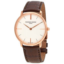 Frederique Constant Slimline Silver Dial Mens Watch FC-200V5S34