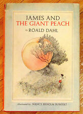 JAMES AND THE GIANT PEACH Roald Dahl 1961 HBDJ 1st edition 2nd state L1