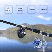 Electronic Light Fish Bite Sound Fishing Alarm & LED Indicator for Night Fishing