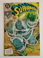 DC Comics Superman The Man of Steel #18 (1992) 1st Full Appearance Doomsday!