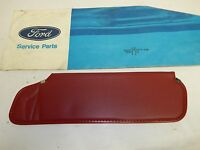 New OEM 1983 & Up Ford Mustang Sun Visor Assembly Red E3ZZ7604104A0D