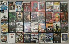 Massive Job Lot Of 72 PC CD ROM Games