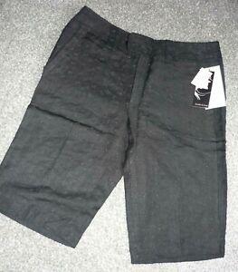 Black bermuda shorts by jennifer & grace size 8 BNWT Free P&P