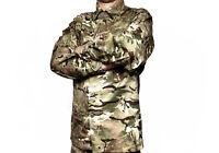 Genuine British Army Barrack Jacket Combat Tropical MTP Multicam Shirt