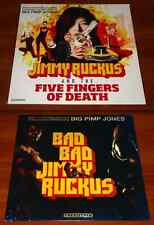 2x *RARE* LP OST VINYL Lot BAD JIMMY RUCKUS & FIVE FINGERS OF DEATH Tarantino