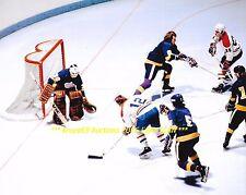ROGIE VACHON Defends NET vs Habs Cournoyer 8x10 Photo LA KINGS Star GOALIE WoW