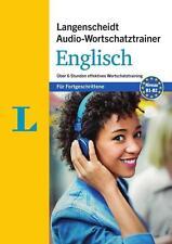 Langenscheidt Audio-Wortschatztrainer Englisch für Fortgeschrittene - Wortschatztrainer auf 1 MP3-CD, 16-seitiges Begleitheft (2016)