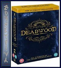 DEADWOOD - COMPLETE SEASONS 1 2 & 3  - *** BRAND NEW & SEALED DVD BOXSET**