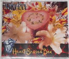 NIRVANA CD-MAXI HEART-SHAPED BOX ( NEAR MINT) UK IMPORT