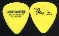 Steve Vai 1990 Slip Tongue Tour Guitar Pick! Whitesnake custom concert stage #3
