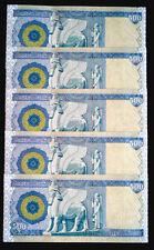 2500 NEW IRAQI DINAR   5 X 500 DINAR NOTES MINT UNCIRCULATED * 13 Sets Left *