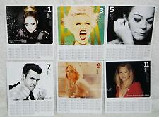 One Direction Justin Timberlake Il Divo Taiwan Promo 2014-year Desk Calendar