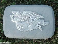 "angel with flute rain brick 1/8th""plastic mold concrete plaster mould"