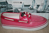 SPERRY TOP-SIDER BAHAMA PINK SEQUINS BOAT SHOES US SIZE 12 M #9383258 j4 a