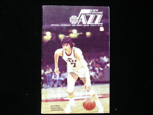 1976-77 New Orleans Jazz NBA Basketball Yearbook
