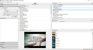 OpenLP 2019 (Church Worship Software: Display Verses/Songs Projector) PC/Mac CD