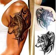 TATTOO Bodyart Wolf Zeichen Armband Body Körpertattoo EINMALTATTOO Top Idee