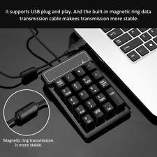 Mechanical Numeric Keypad Pad Numpad 19Keys Keyboard for Laptop Desktop PC