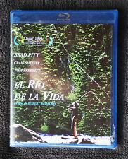 EL  RIO DE LA VIDA (A River Runs Through It). BRAD PITT, REDFORD. BLURAY, SEALED