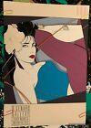 PATRICK NAGEL MIRAGE 1986 VINTAGE SEXY WOMAN POSTER D GENARO GALLERY 24 x 35 N/M