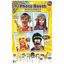 Hippie hippy photo booth prop kit professionnel Groovy fête robe fantaisie photos
