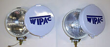 Wipac spot lamps (pair) with covers and brackets for classic Mini.