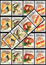 $$ Wholesale $$ GIBRALTAR 2005 EUROPA-CEPT  x5 sets SC#1010-13  MNH FOOD, FISH