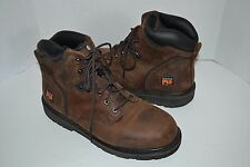 Timberland Pit-Boss Brown SZ 13 W SOFT TOE  EH Oil Slip Resist Work Boot 33046