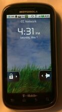 READ 1ST Motorola CLIQ 2 MB611 (T-Mobile) Fast Ship Excellent Used Test Unit