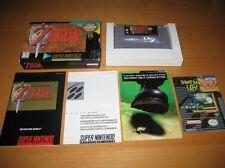 Zelda A Link to the Past Super Nintendo SNES Original Complete Excellent