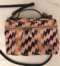 FOR PARTS OR REPAIR Kenso Paris Pink Nylon Crossbody Small Bag